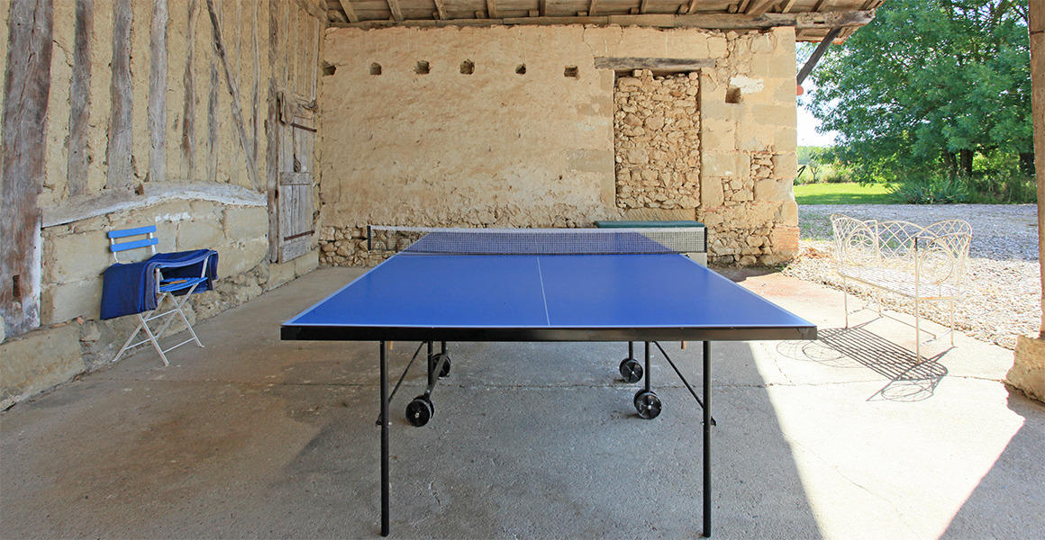 There's table tennis too