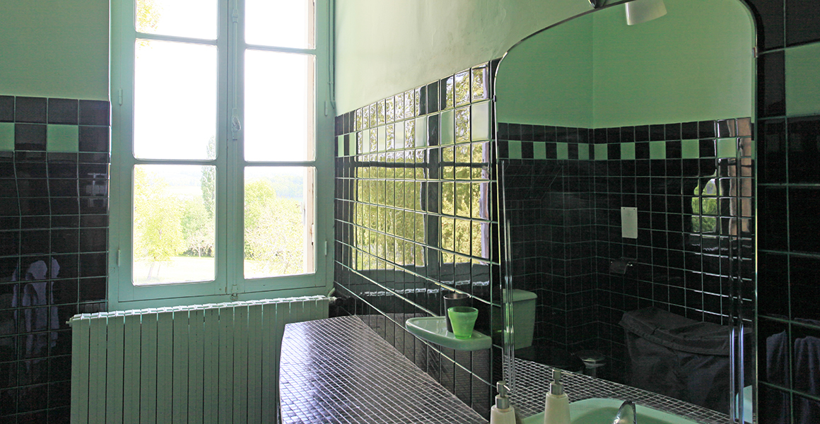 Art Deco inspired first floor bathroom