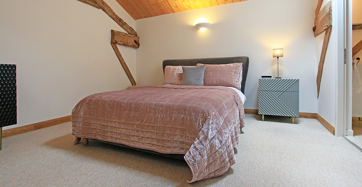 Barn double bedroom