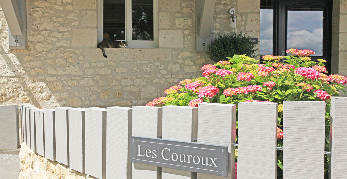 Entrance to Les Couroux