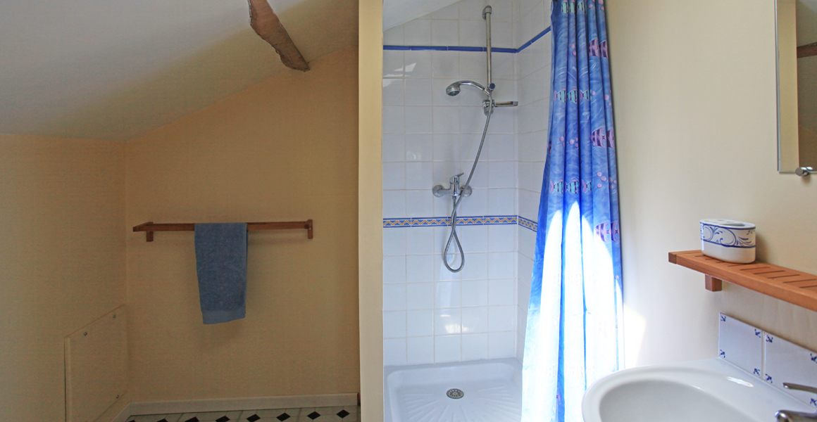 First floor ensuite shower room