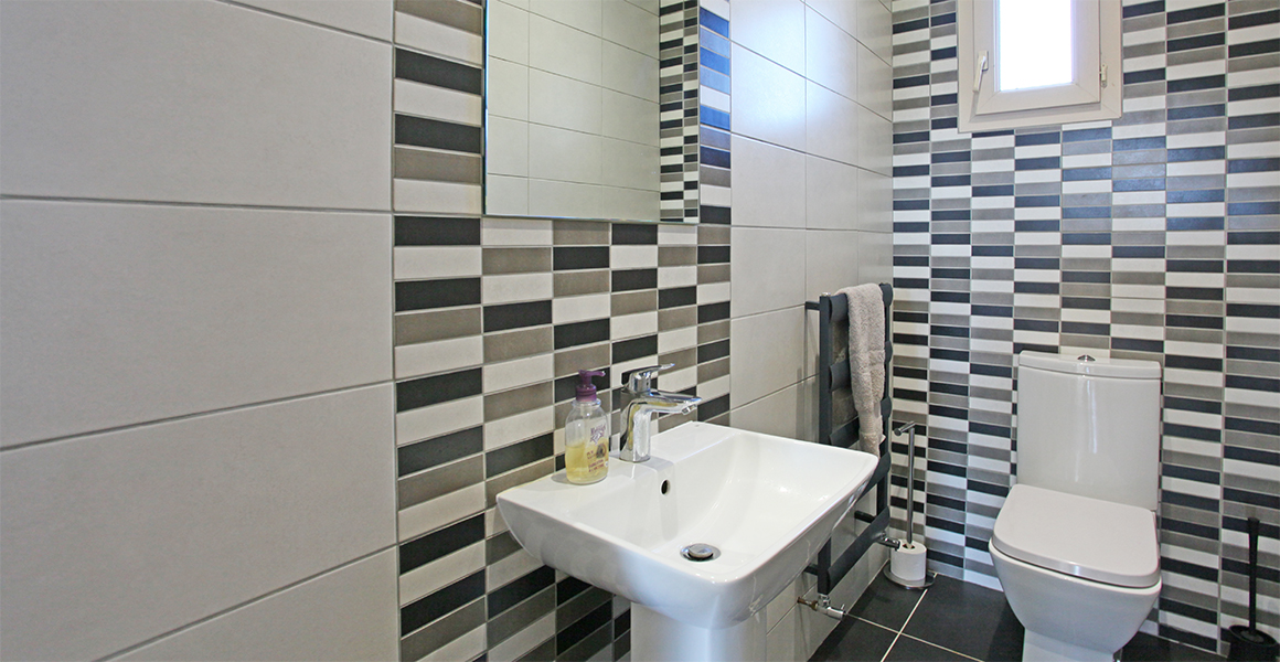 Ground floor WC, there is a separate ground floor bath/shower room under refurbishment